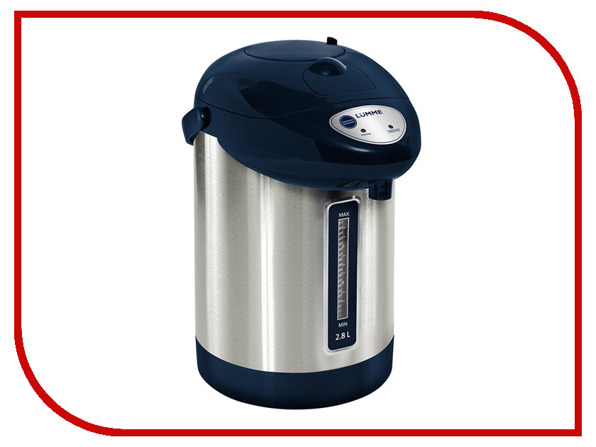 Термопот Lumme LU-297 Blue Sapphire мультиварка lumme lu 1445 860 вт 5 л черный красный