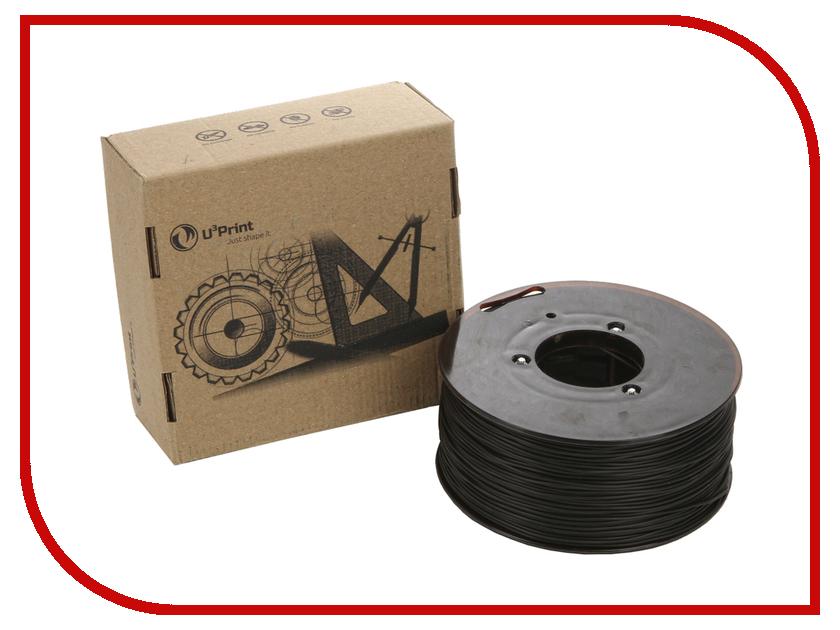 Аксессуар U3Print Aesthetic TPE-пластик 1.75mm 0.45kg Anthracite<br>