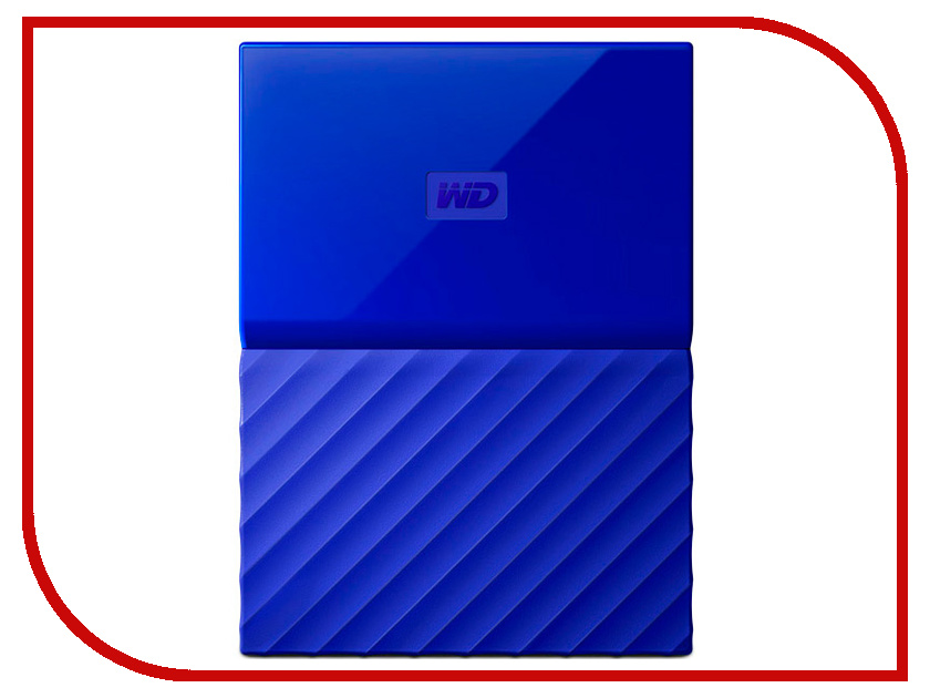 Жесткий диск Western Digital My Passport 1Tb Blue WDBBEX0010BBL-EEUE нож swiza d01 blue kni 0010 1030