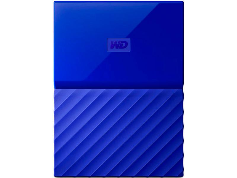 Жесткий диск Western Digital My Passport 1Tb Blue WDBBEX0010BBL-EEUE
