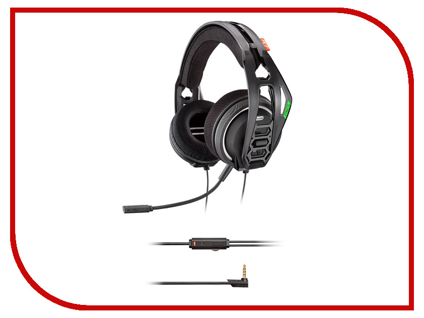 Гарнитура Plantronics RIG 400HX Black 206807-05 plantronics audio 355