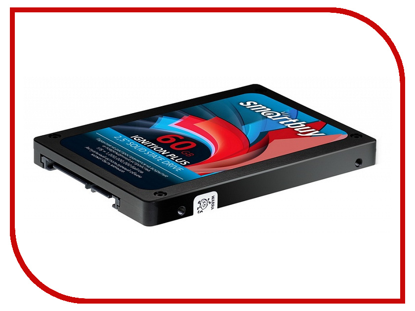внутренние HDD/SSD SB060GB-IGNP-25SAT3  Жесткий диск 60Gb - SmartBuy Ignition Plus SB060GB-IGNP-25SAT3