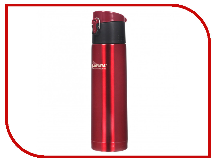 Термокружка La Playa Travel Tumbler Bubble Safe 500ml Red 560065 cute pill tumbler style ball point pen red white