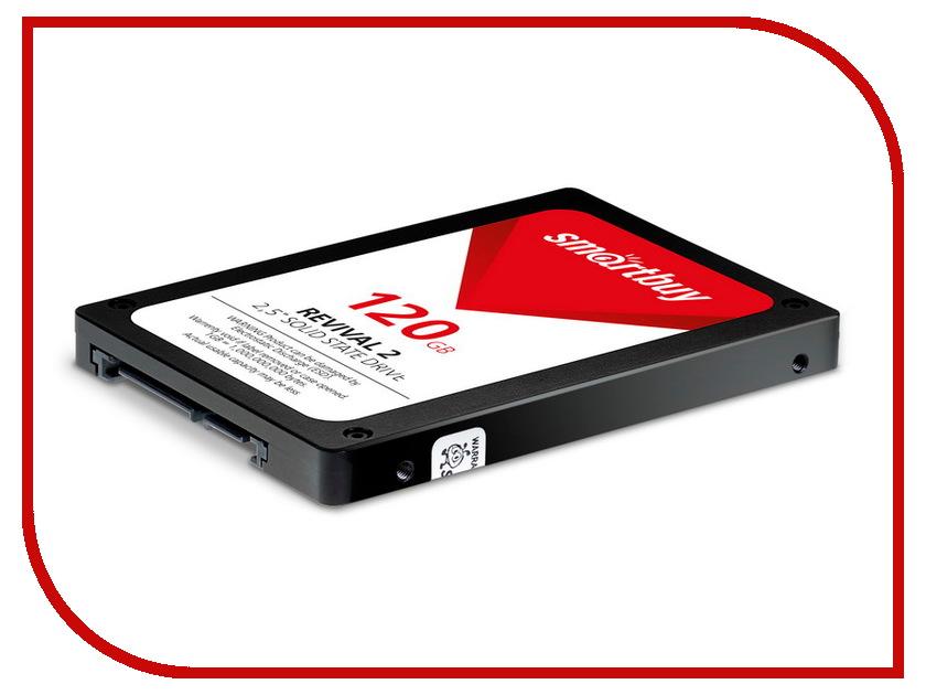 Жесткий диск 120Gb - Smartbuy Revival 2 SB120GB-RVVL2-25SAT3 240gb smartbuy revival sb240gb rvvl 25sat3 sata3 2 5