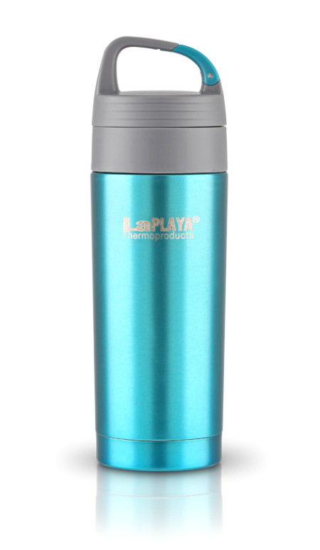 Термокружка La Playa Carabiner Thermo Drink Mug 350ml Petrol 560086