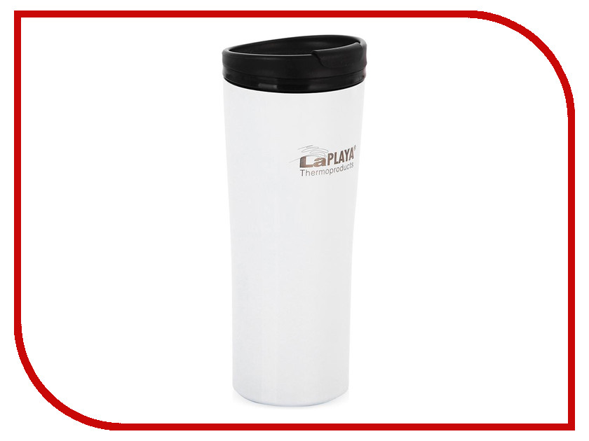 Термокружка La Playa Vacuum Travel Mug 400ml White 560058