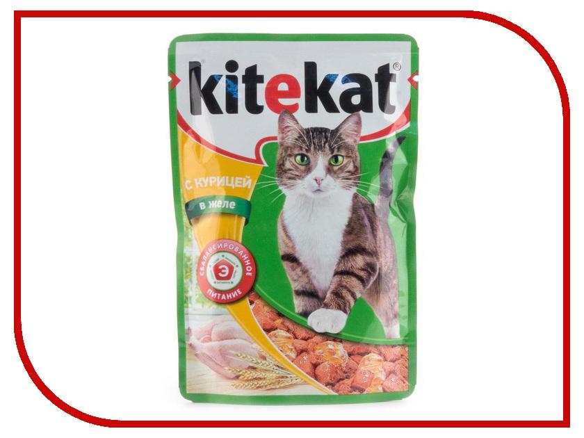 Корм Kitekat Курица в желе 85g для кошек 10151304