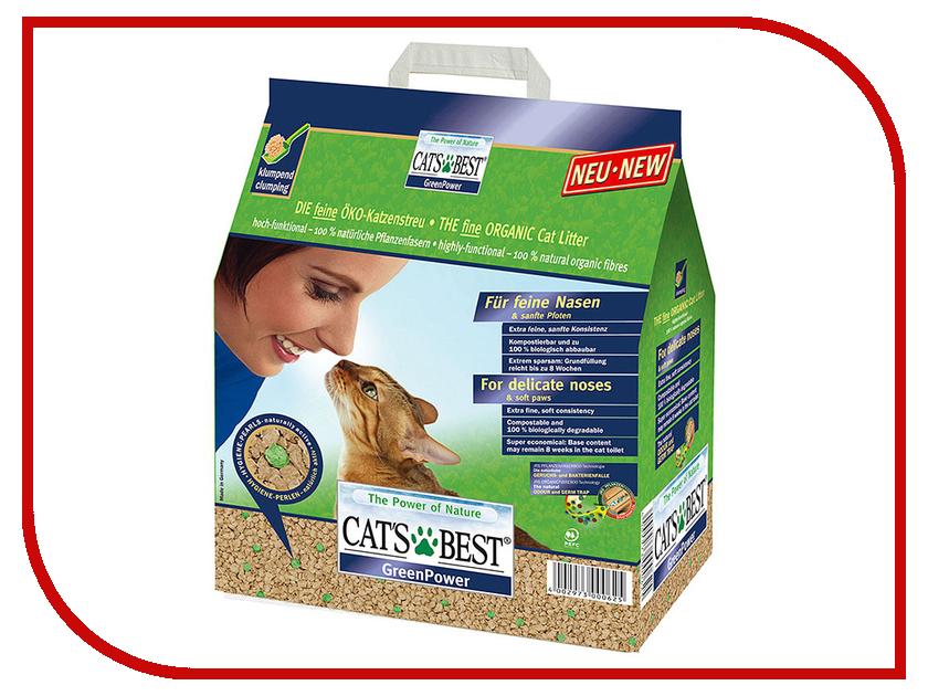 Наполнитель CatS Best Green Power 2.9kg<br>
