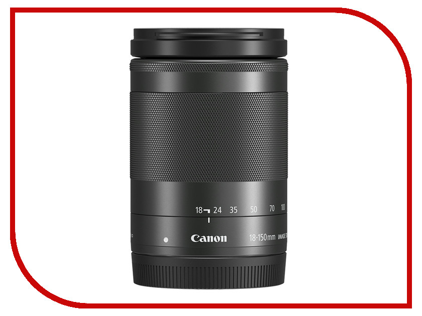 Объектив Canon EF-M 18-150 mm F/3.5-6.3 IS STM Black