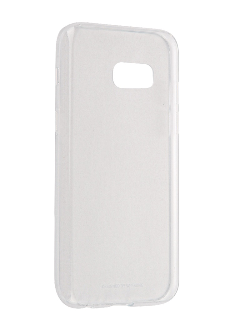 Аксессуар Чехол Samsung Galaxy A3 2017 Clear Cover Transparent EF-QA320TTEGRU цена