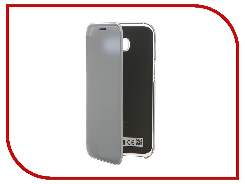 Аксессуар Чехол Samsung Galaxy A5 2017 Clear View Cover Black EF-ZA520CBEGRU