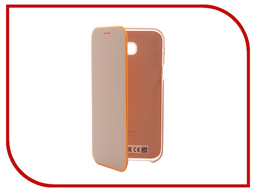 Аксессуар Чехол Samsung Galaxy A7 2017 Neon Flip Cover Pink EF-FA720PPEGRU<br>