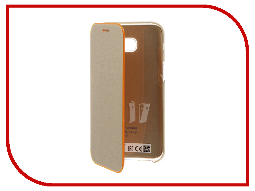 Аксессуар Чехол Samsung Galaxy A3 2017 Neypo Silicone Transparent-Gold NST2101