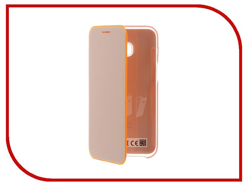 Аксессуар Чехол Samsung Galaxy A3 2017 Neon Flip Cover Pink EF-FA320PPEGRU<br>