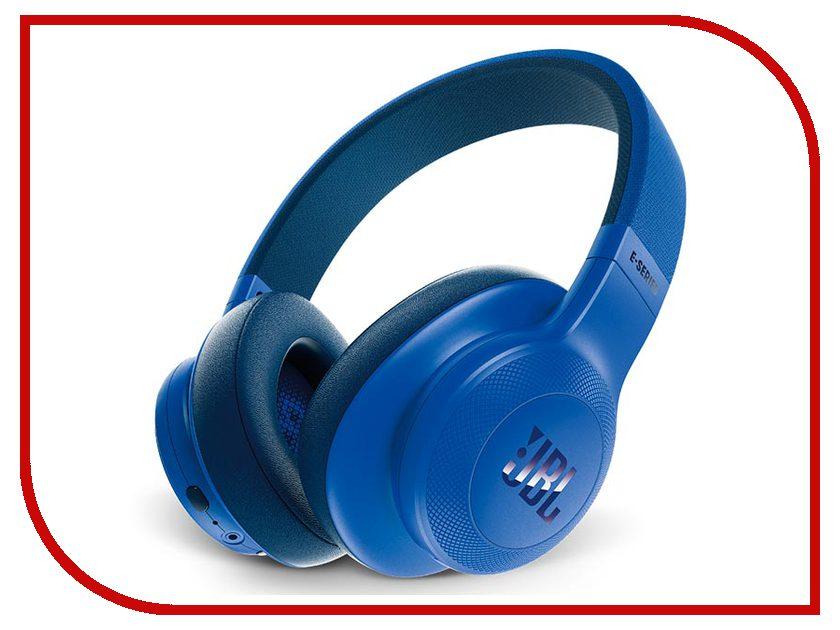 Гарнитура JBL E55BT Blue JBLE55BTBL гарнитура jbl t450 white