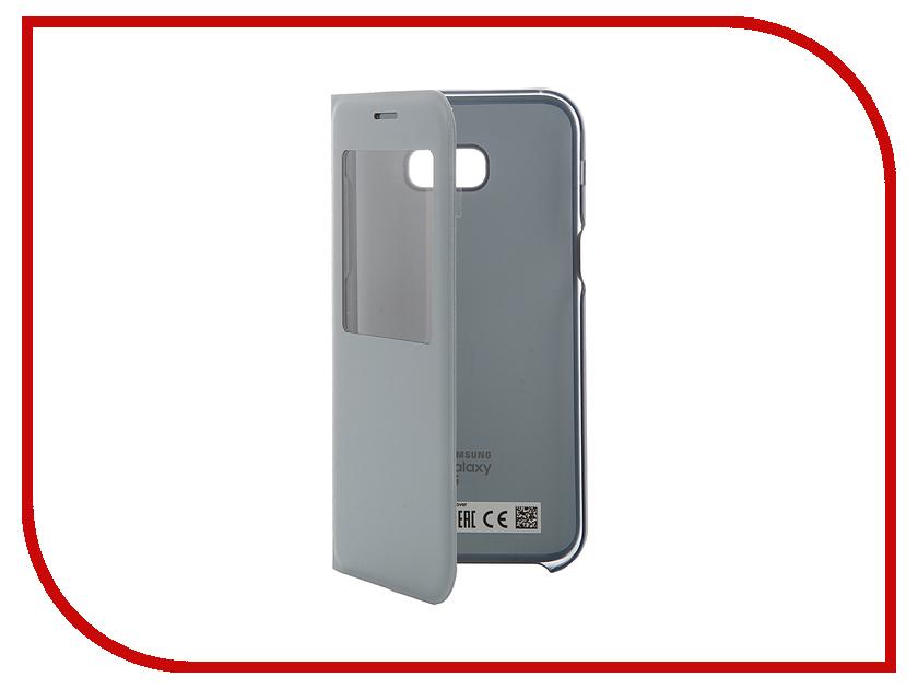 Аксессуар Чехол Samsung Galaxy A5 2017  View Standing Cover Blue EF-CA520PLEGRU
