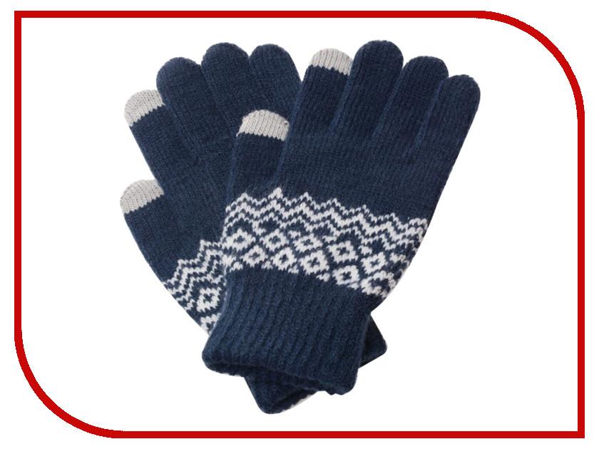 Теплые перчатки для сенсорных дисплеев Xiaomi Mi Wool Screen Touch Gloves Mens р.UNI Blue original for samsung p5110 p5100 n8000 touch screen touch screen touch capacitance screen