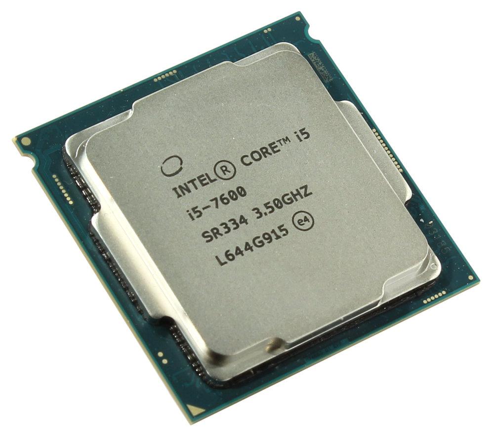 Процессор Intel Core i5-7600 Kaby Lake (3500MHz/LGA1151/L3 6144Kb) процессор intel core i5 7500 kaby lake 3400mhz lga1151 l3 6144kb