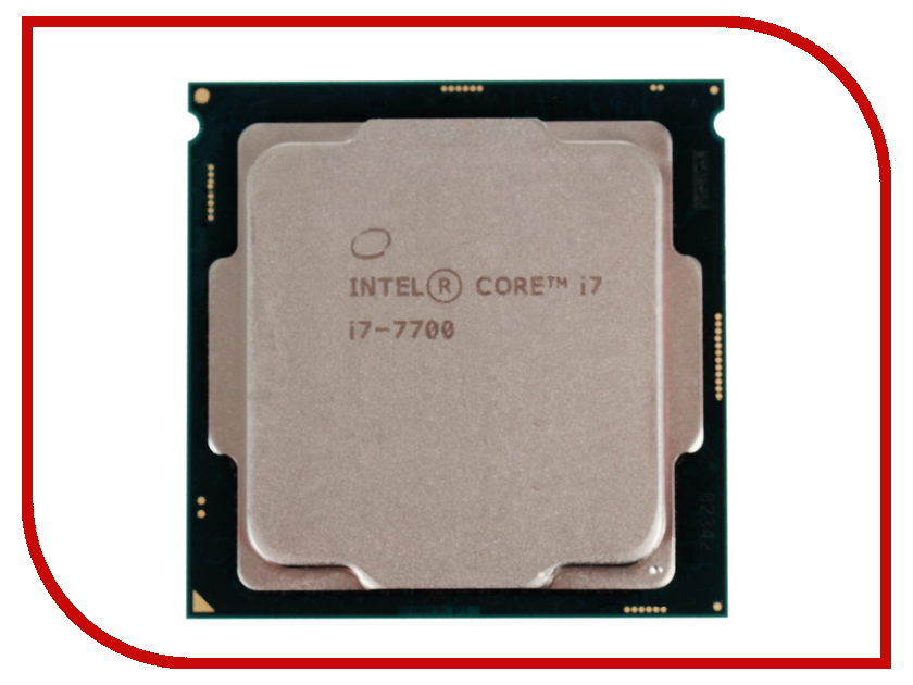 Процессор Intel Core i7-7700 Kaby Lake (3600MHz/LGA1151/L3 8192Kb) msi original zh77a g43 motherboard ddr3 lga 1155 for i3 i5 i7 cpu 32gb usb3 0 sata3 h77 motherboard