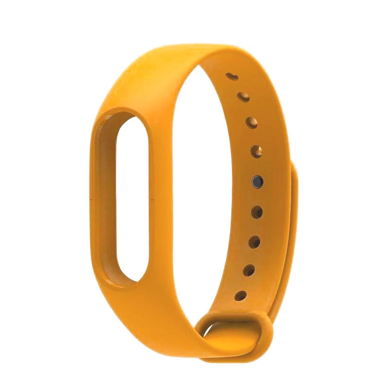 Aксессуар Ремешок Xiaomi Mi Band 2 Silicone Orange