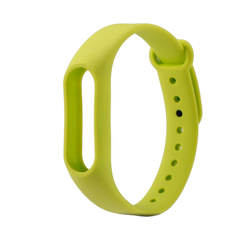 Aксессуар Ремешок Xiaomi Mi Band 2 Silicone Green