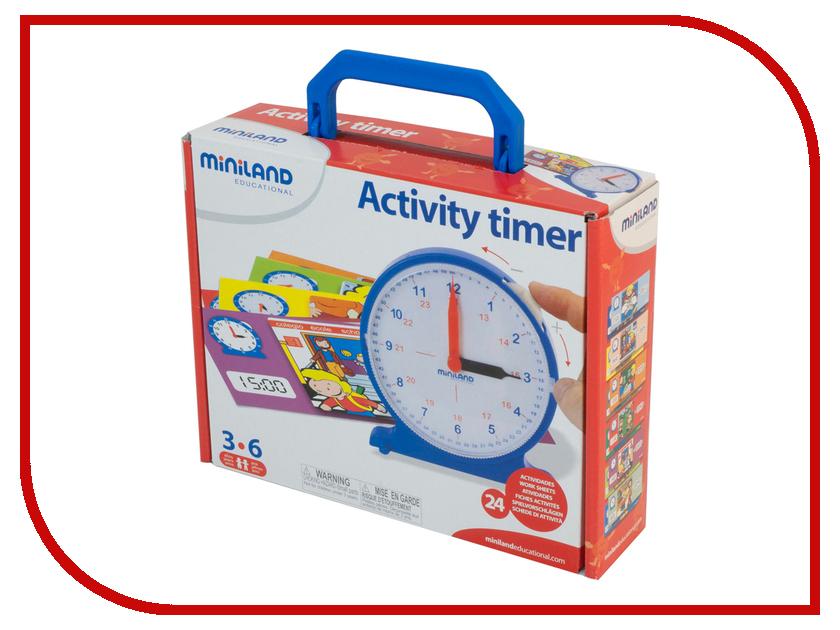 Игрушка Miniland Часы обучающие 95282<br>
