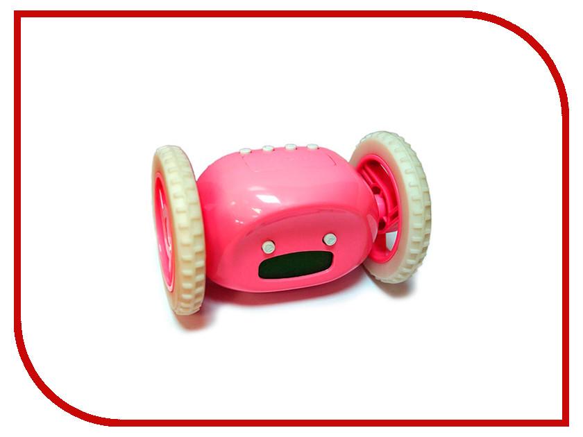 Гаджет Эврика Часы будильник Инопланетянин Pink 93484 часы эврика античасы классика белая стеклянные