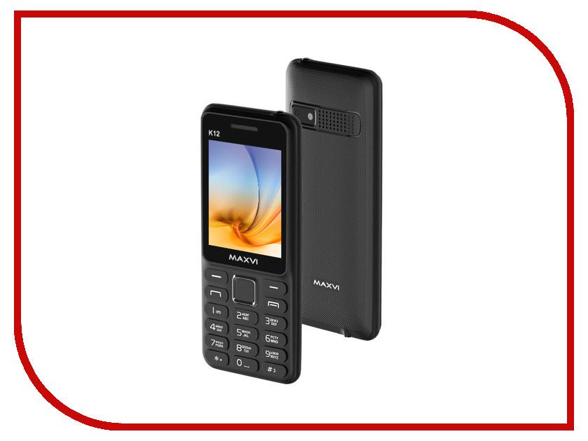Сотовый телефон Maxvi K12 Black