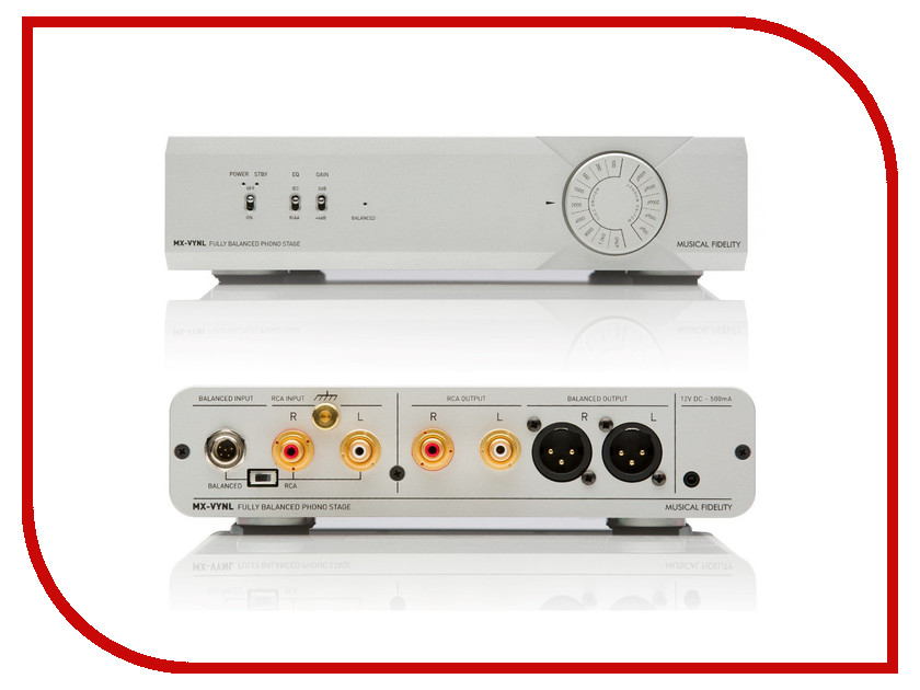 Фонокорректор Musical Fidelity MX-VYNL Phono Stage