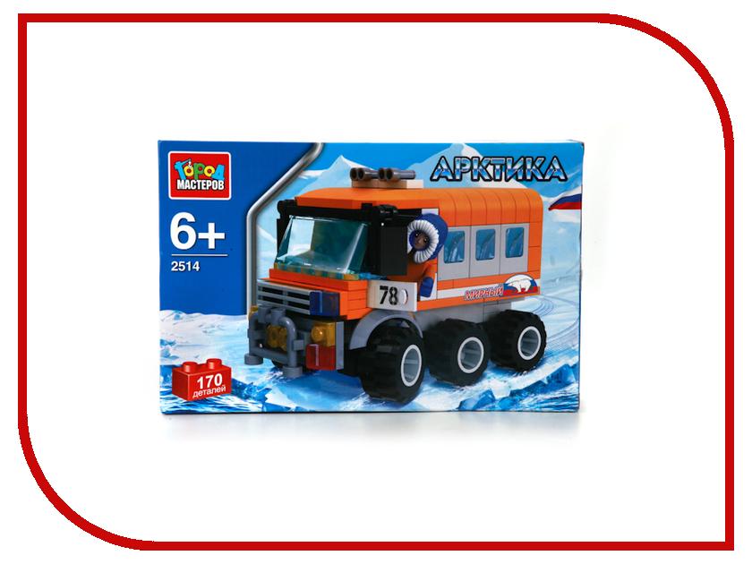 Игрушка Конструктор Город Мастеров Арктика, полярный вездеход UU-2514-R<br>
