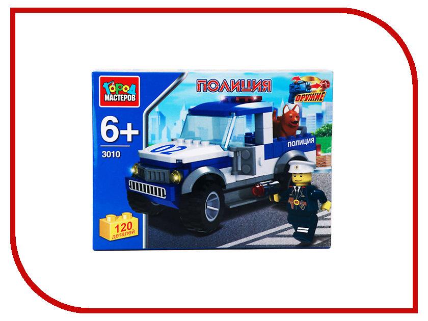 Конструктор Город Мастеров Полицейский пикап UU-3010-R город мастеров конструктор полицейский вертолет