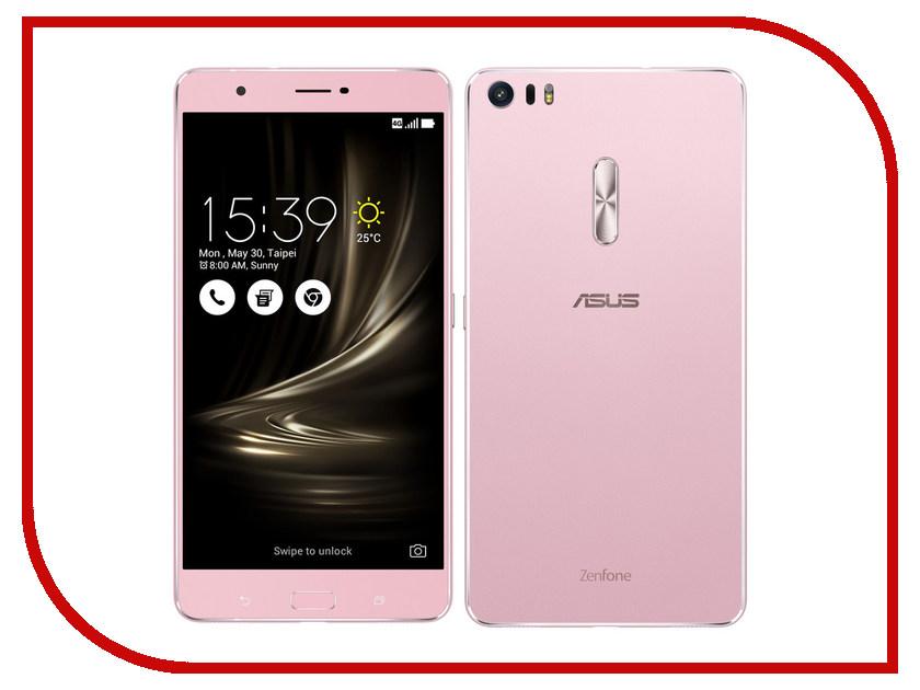 Сотовый телефон ASUS ZenFone 3 Ultra ZU680KL 64Gb Rose Gold<br>