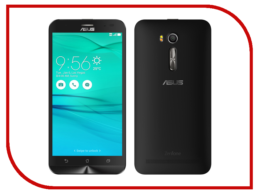 Сотовый телефон ASUS ZenFone Go ZB552KL 16Gb Black samsung rs 552 nruasl