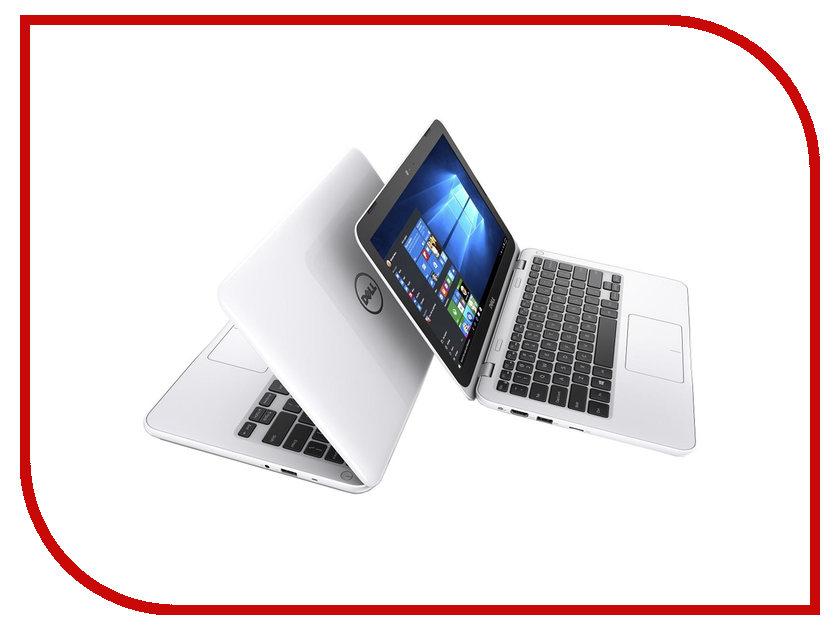 Ноутбук Dell Inspiron 3162 White 3162-3041 (Intel Celeron N3060 1.6 GHz/2048Mb/32Gb SSD/No ODD/Intel HD Graphics/Wi-Fi/Bluetooth/Cam/11.6/1366x768/Windows 10)
