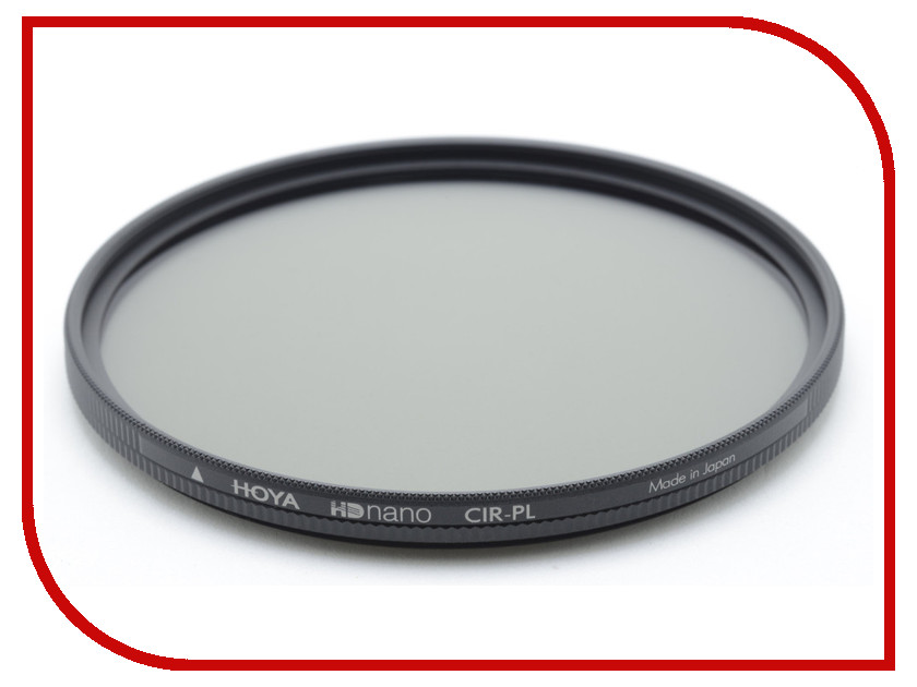 Светофильтр HOYA PL-CIR HD NANO 72mm 84872 светофильтр hoya uv hd nano 67mm 84880