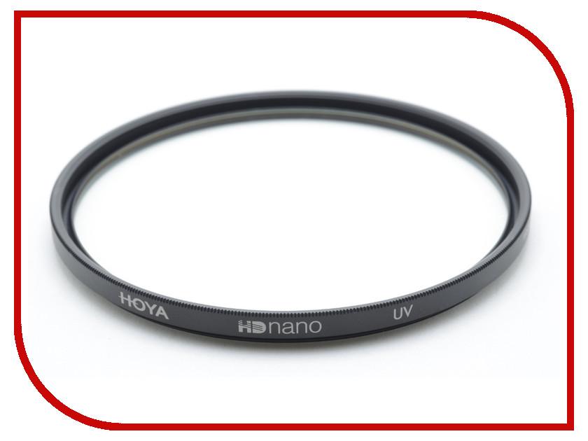 Светофильтр HOYA UV HD NANO 55mm 84877 светофильтр hoya uv hd nano 67mm 84880