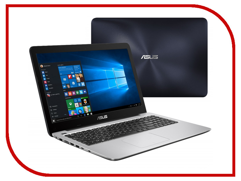 Ноутбук ASUS X556UQ-XO768T Dark Blue 90NB0BH2-M09650 (Intel Core i5-7200U 2.5 GHz/4096Mb/1000Gb/DVD-RW/nVidia GeForce 940MX 2048Mb/Wi-Fi/Bluetooth/Cam/15.6/1366x768/Windows 10 64-bit) a suit of graceful rhinestoned water drop necklace and earrings for women
