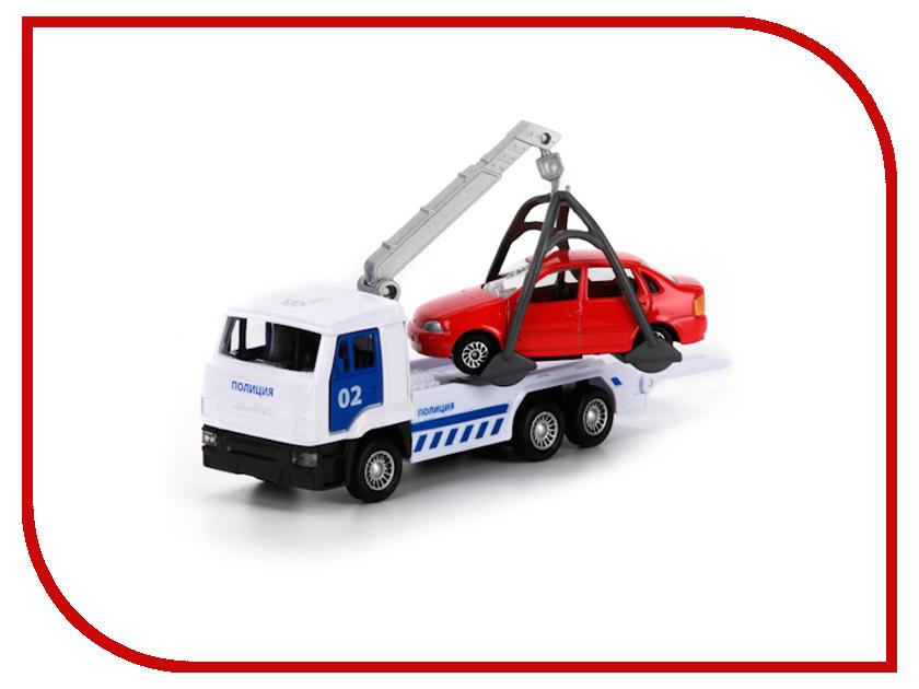 Игрушка Технопарк КАМАЗ эвакуатор SB-16-27-A1-WB игрушка технопарк lada в спорт окраске 3шт sb 16 79wb