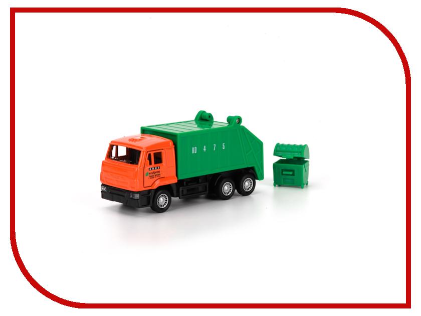 Игрушка Технопарк КАМАЗ мусоровоз SB-16-25WB<br>