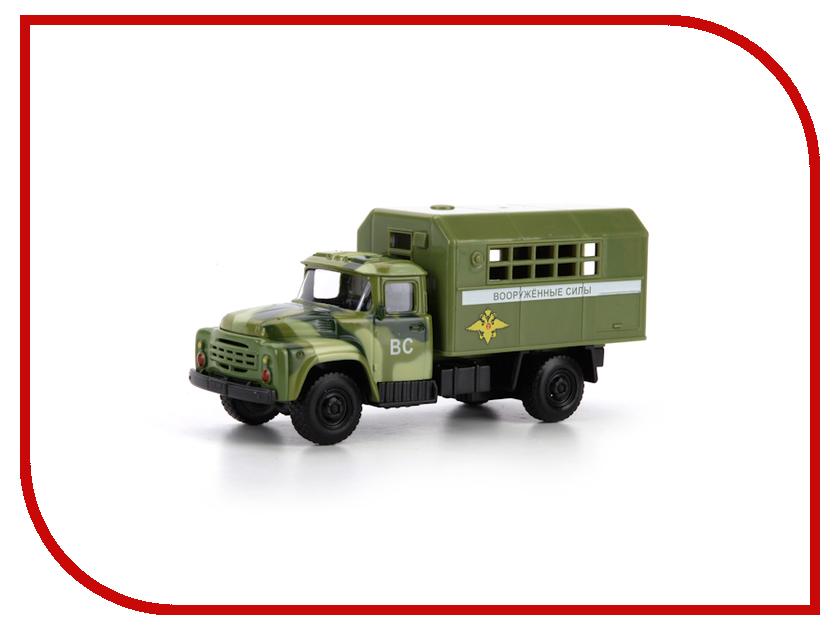 Игрушка Технопарк ЗИЛ 130 будка военная X600-H09129-R игрушка технопарк зил 130 бензовоз x600 h09131 r