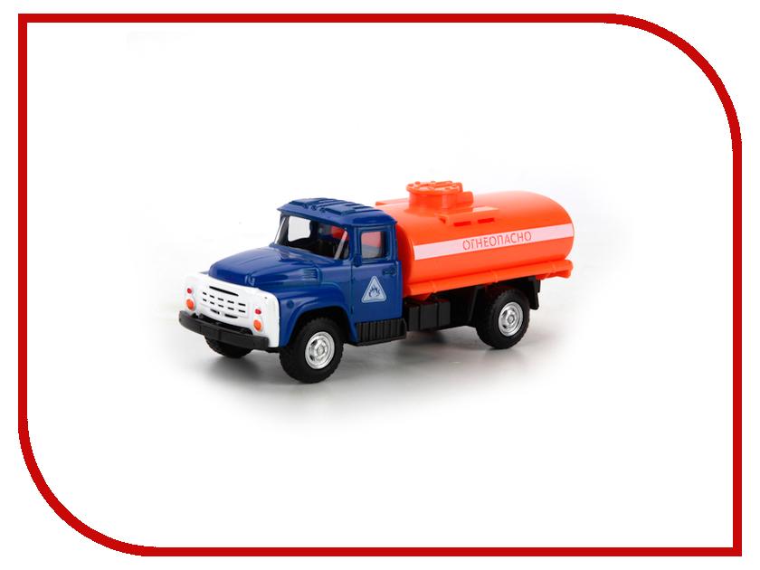 Игрушка Технопарк ЗИЛ 130 бензовоз X600-H09131-R игрушка технопарк зил 130 бензовоз x600 h09131 r