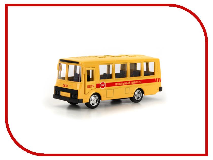 Машина Технопарк Автобус ПАЗ X600-H09138-R технопарк автобус инерционный вооруженные силы паз 3206