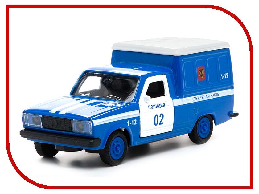Машина Технопарк Фургон полиция CT12-370-3 машина технопарк танк т 90 ct12 374 t wb