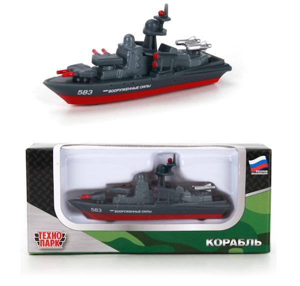 Лодка Технопарк Корабль SB-16-02-BO-M машинка технопарк sb 13 21 1