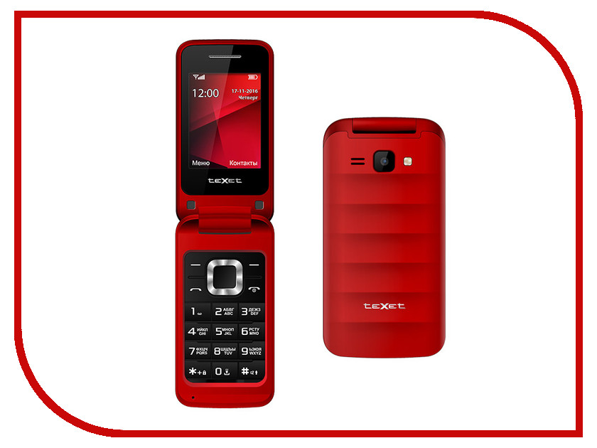 Сотовый телефон teXet TM-304 Red ноутбук msi gp62m 7rex wot edition 9s7 16j9e2 2092 intel core i5 7300hq 2 5 ghz 8192mb 1000gb no odd nvidia geforce gtx 1050ti 4096mb wi fi bluetooth cam 15 6 1920x1080 dos