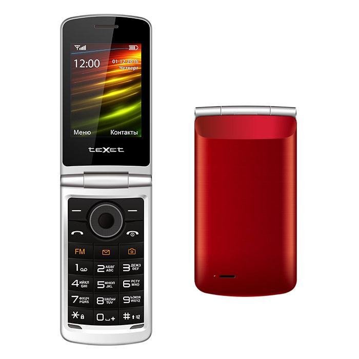 все цены на Сотовый телефон teXet TM-404 Red онлайн