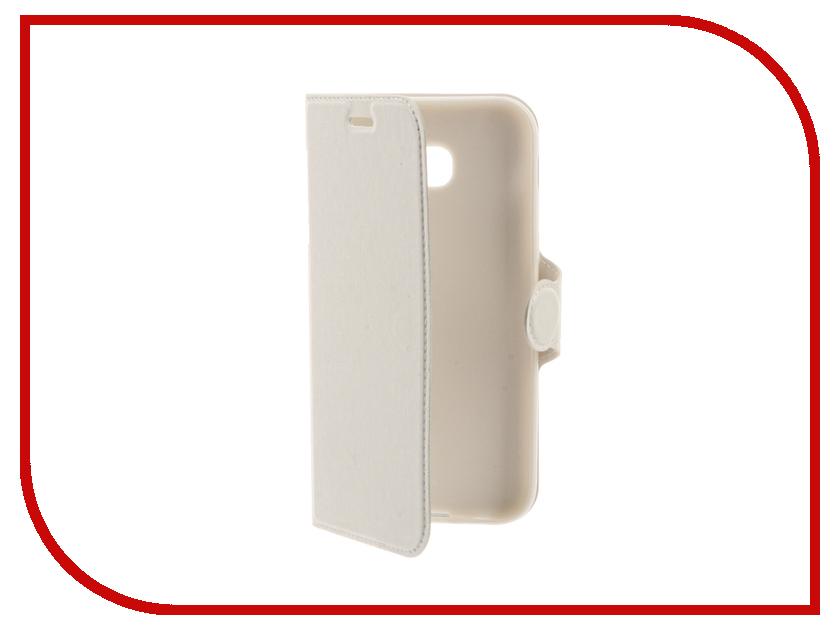 Аксессуар Чехол Samsung Galaxy A5 2017 Red Line Book Type White УТ000010237 red line extreme чехол для samsung galaxy a5 2017 black