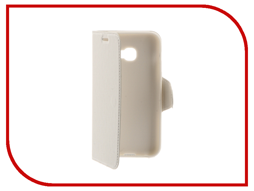 Аксессуар Чехол Samsung Galaxy A3 2017 Red Line Book Type White УТ000010234<br>