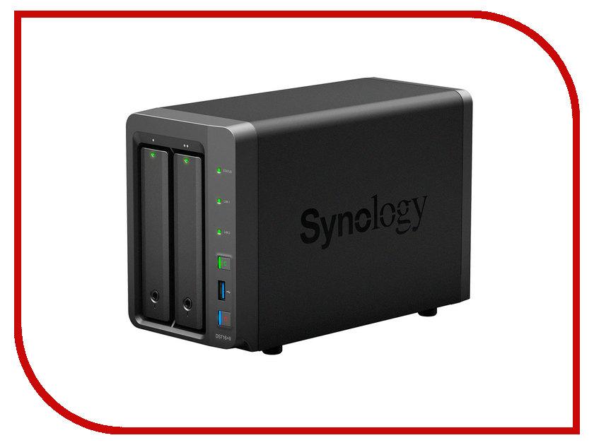 Сетевое хранилище Synology DS716+II