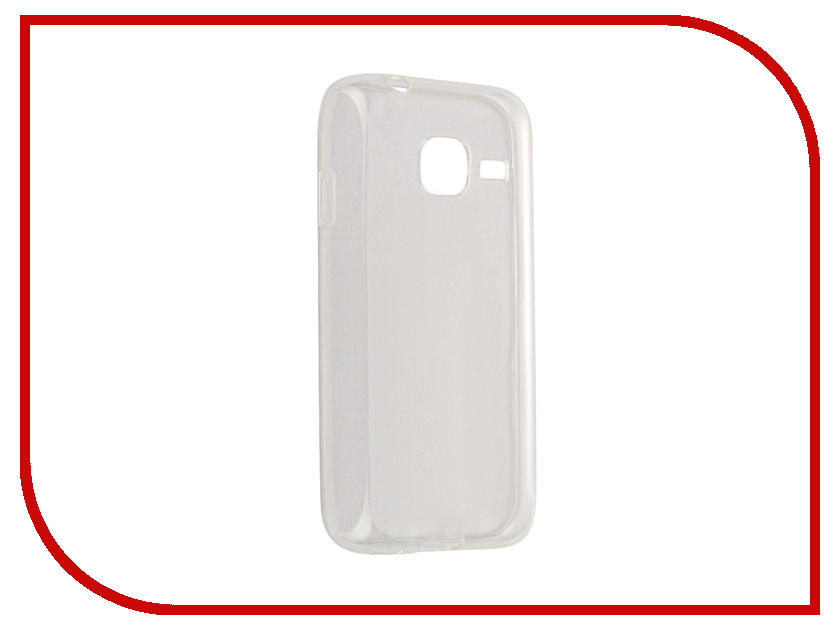 Аксессуар Чехол Samsung Galaxy J1 mini 2016 iBox Crystal Transparent аксессуар чехол samsung galaxy j1 mini j1 mini 2016 cojess book case new red